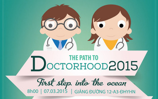 Slide and Video - THE PATH TO DOCTORHOOD 2015: First step into the ocean